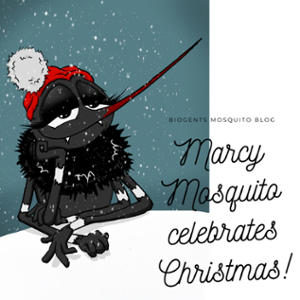 Marcy Mosquito Tiger Mosquito Biogents Christmas