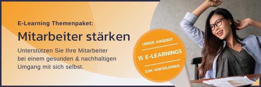 E-Learning Themenpaket: Mitarbeiter stärken