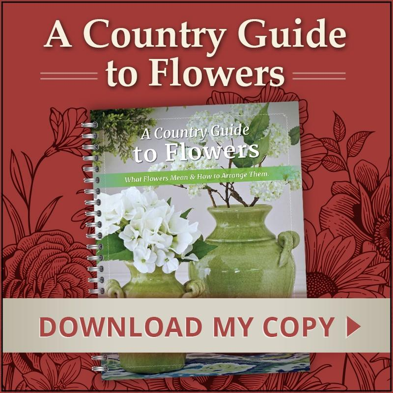 THE COUNTRY GUIDE TO FLOWERS