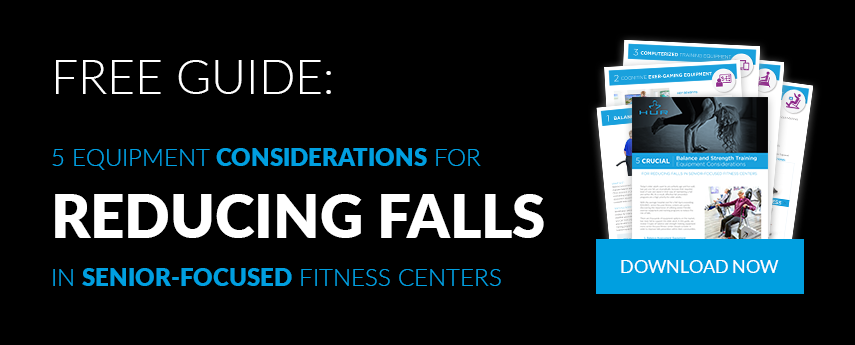 5 Equipment Considerations for Reducing Falls in Senior-Focused Fitness Centers