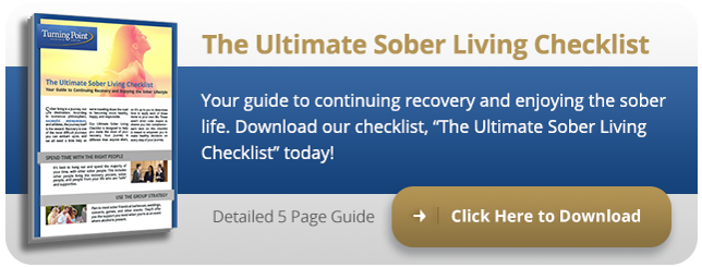 Turning Point Recovery Center's Ultimate Sober Living Checklist