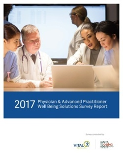 2017 Physician & Advanced Practitioner Well Being Solutions Survey Report
