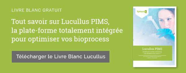 Tout savoir sur Lucullus PIMS, la plate-forme totalement intégrée pour optimiser vos bioprocess