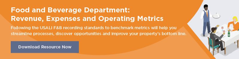 Food and Beverage Department: Revenue, Expenses and Operating Metrics