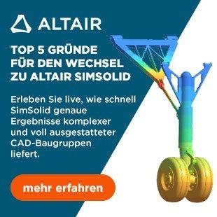 Top 5 Gründe für den Wechsel zu Altair SimSolid