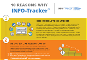 10 Reasons Why INFO-Tracker