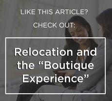 Relocation and the boutique experience