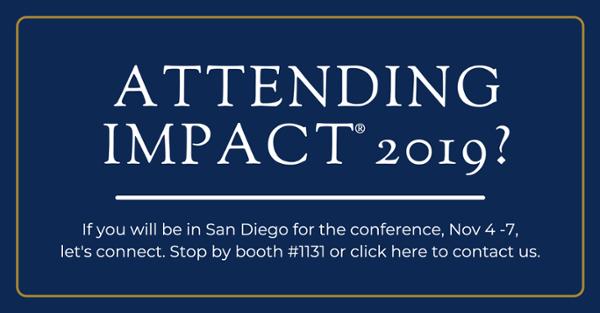 Attending IMPACT 2019?  Let's Meet.