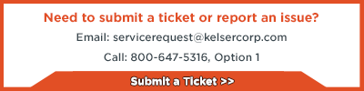 submit a ticket button