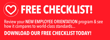 new employee orientation employee onboarding program checklist