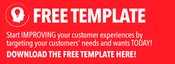 Designing your customer experience [free template]