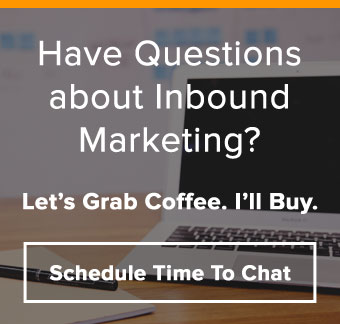 Do you have questions about Inbound Marketing?  Let me buy coffee and we can chat.