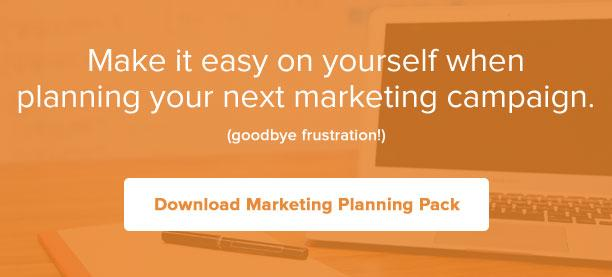 Make it easy to plan your next marketing campaign with our free template pack