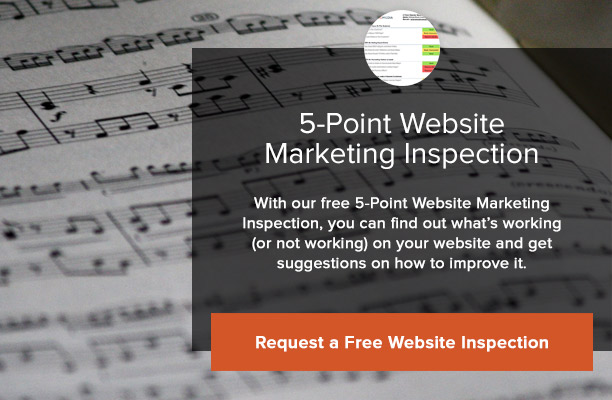 Free 5-Point Website Marketing Inspection