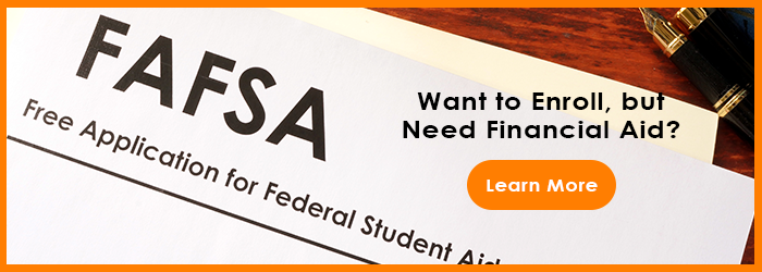 Do you need financial aid call to action banner
