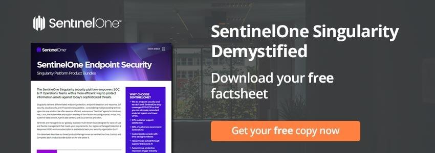 SentinelOne Singularity