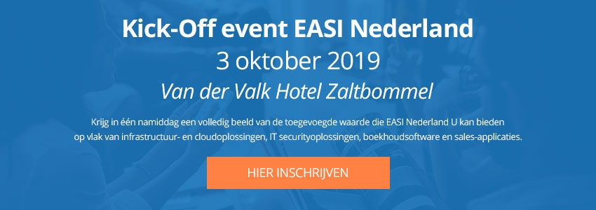 EASI Nederland kick-off event