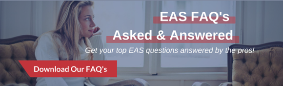 EAS FAQ's Asked & Answered clickable button to download infographic