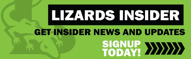Become a Lizards Insider! Get News and Updates!