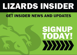 Signup for the Lizards Newsletter