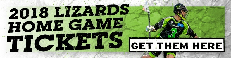 2018 Lizards Home Game Tickets! Get them here