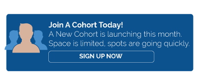 GET INTO A COHORT TODAY
