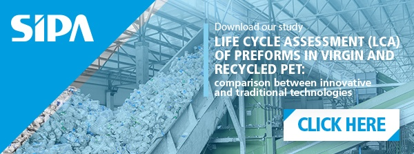 life cycle assessment of preform in virgin and recycled pet
