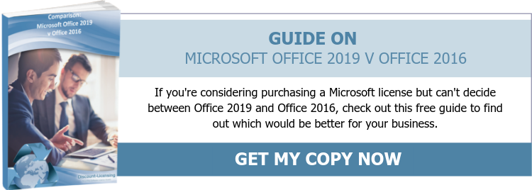 Guide On Microsoft Office 2019 V 2016