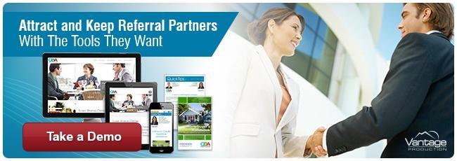 Referral Partner Center