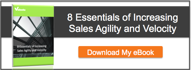 Valooto - 8 Essentials of Increasing Sales Agility and Velocity