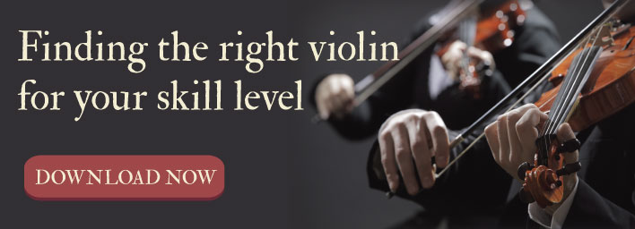 finding the right violin