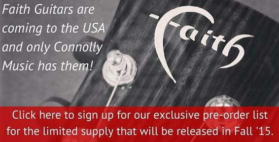 Faith Guitars are Coming - Get on the List!