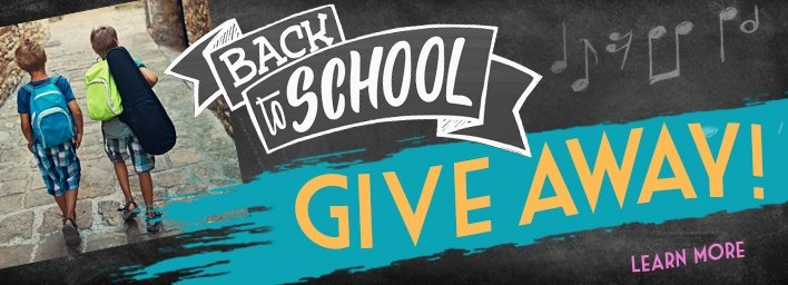 Back to School Giveaway 2018