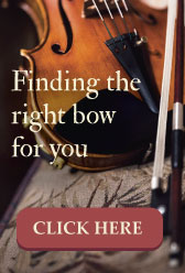 finding the right violin bow
