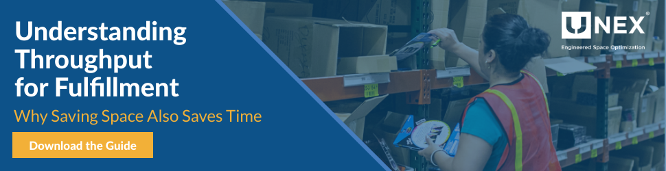 Save Space and Save Time with Guide to Understanding Throughput for Fulfillment