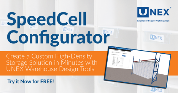 Build a High-Density Storage Solution in Minutes with UNEX SpeedCell Configurator