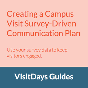 campus-visit-survey-communication-plan