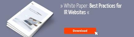 CTA White Paper IR Websites