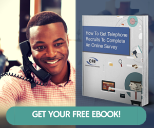Free Ebook - How to Get Telephone Recruits to Complete An Online Survey