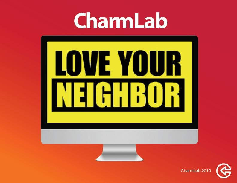 Click here to download Love Your Neighbor Printable Flyer & Facebook Images