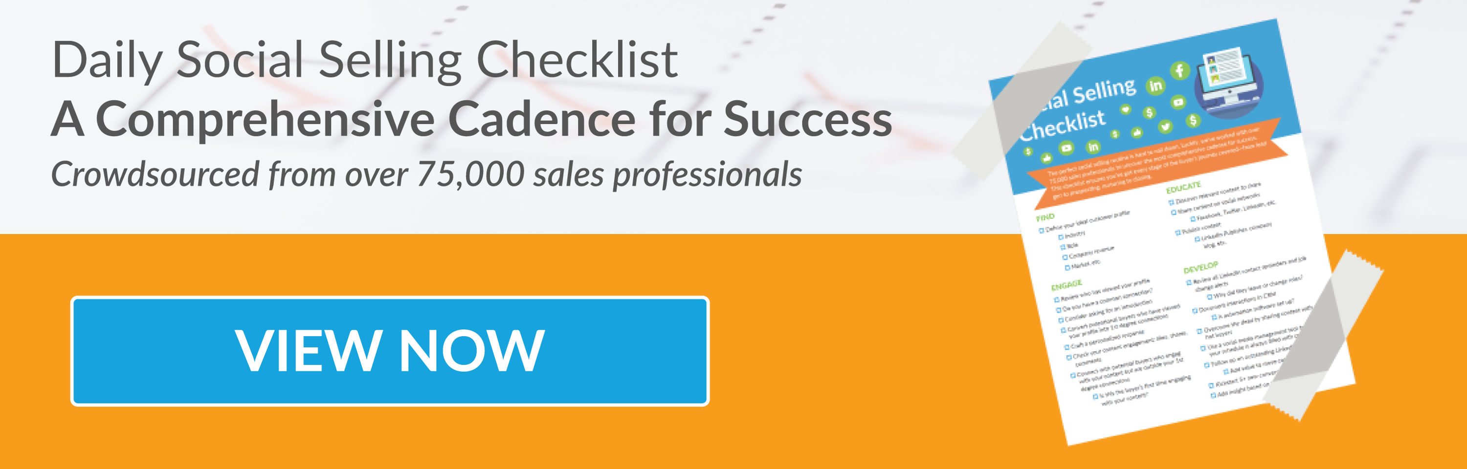 Daily Social Selling Checklist