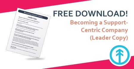 Become of Support Centric Company Free Resource Download