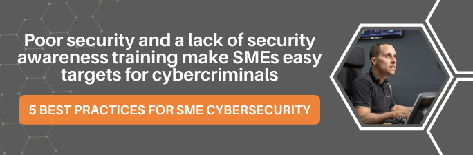 5 best practices for SME cybersecurity