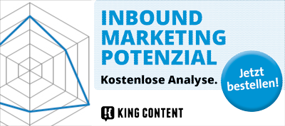 Inbound Marketing Potenzial Analyse kostenlos bestellen