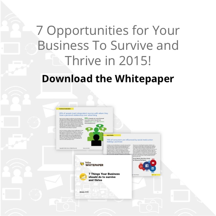 7 Opportunities For Your Business To Survive and Thrive White Paper