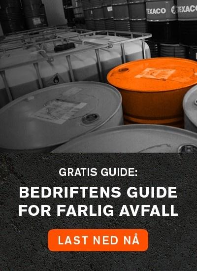 Last ned gratis: Bedriftens guide for farlig avfall