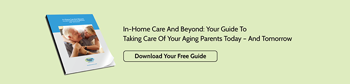 In-Home Care And Beyond: Your Guide To Taking Care Of Your Aging Parents Today - And Tomorrow - Download Your Free Guide