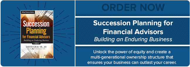 Order Succession Planning for Financial Advisors