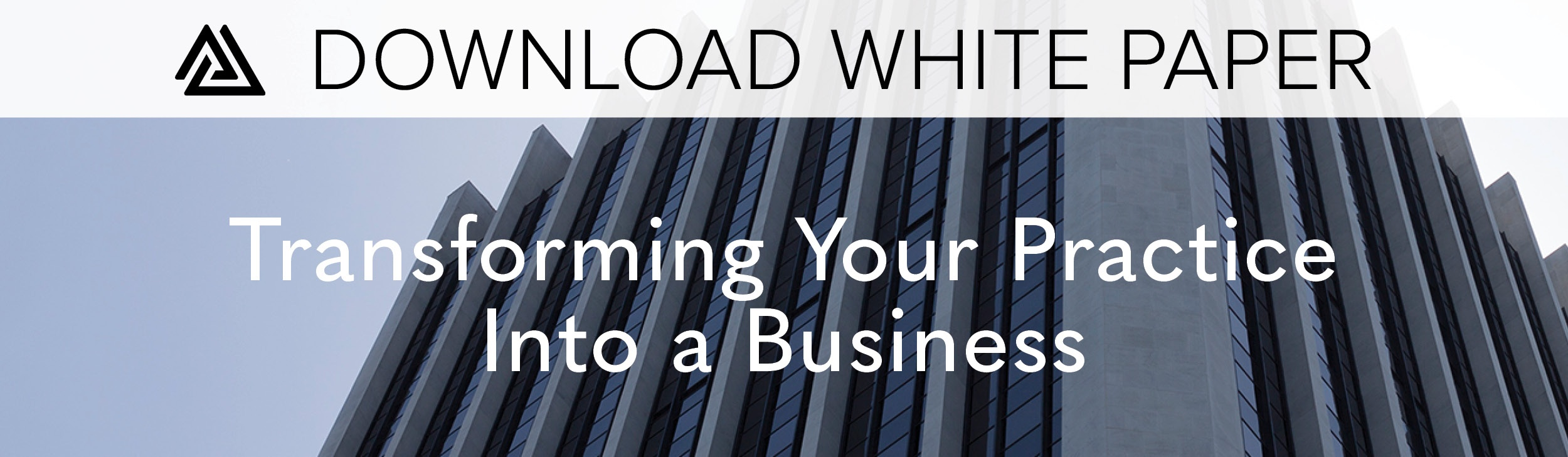 Download White Paper: Transforming Your Practice Into a Business
