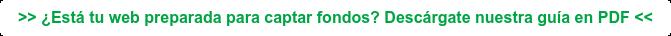 >> ¿Está tu web preparada para captar fondos? Descárgate nuestra guía en PDF <<